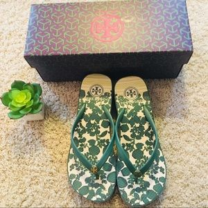 NWT Tory Burch Landscape-Issy Sandals